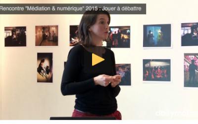 Intervention AdC lors des rencontres «médiation&numérique 2015″