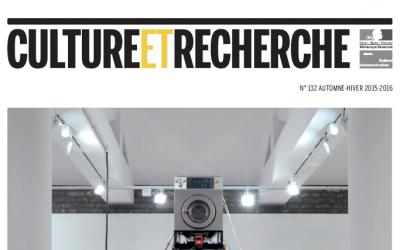 Publication dans «Culture et Recherche»